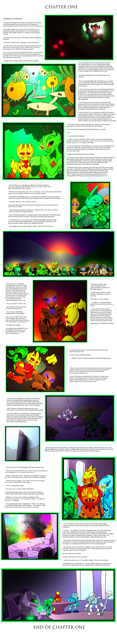 Bionicle- Nova Orbis- Mystery- Chapter 1 by NickinAmerica