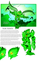 Bionicle- Nova Orbis- Toa Venti Bio
