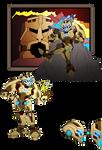 Bionicle- Nova Orbis- Toa Ferrum Bio
