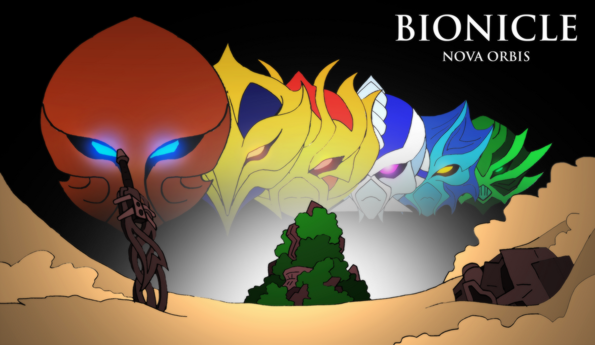 Bionicle- Nova Orbis- Wave 2 poster by NickOnPlanetRipple