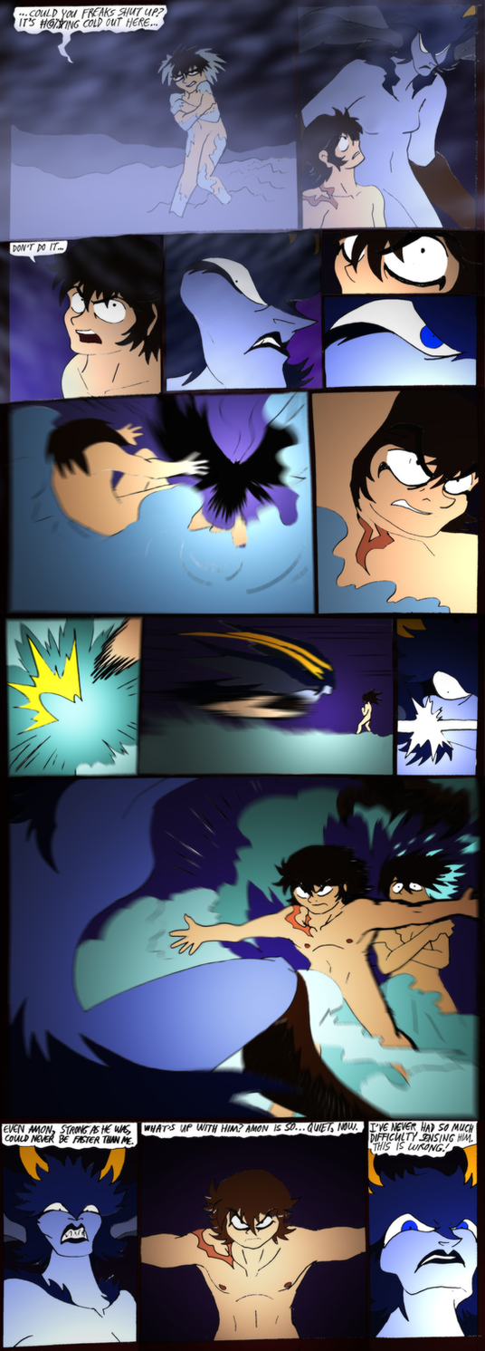 Wrath of The Devilman- 114- Don't do it by NickinAmerica