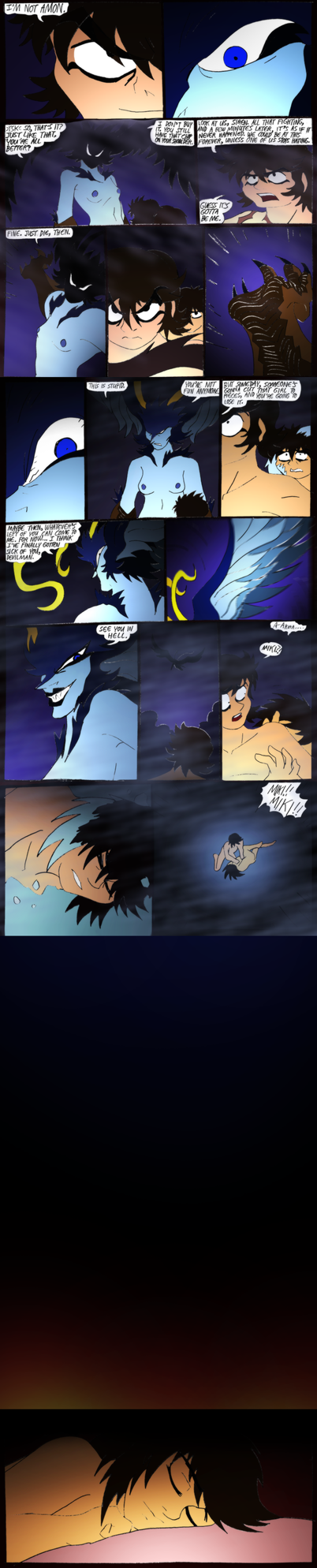 Wrath of the Devilman-115- Uh... bye? (uncensored) by NickinAmerica