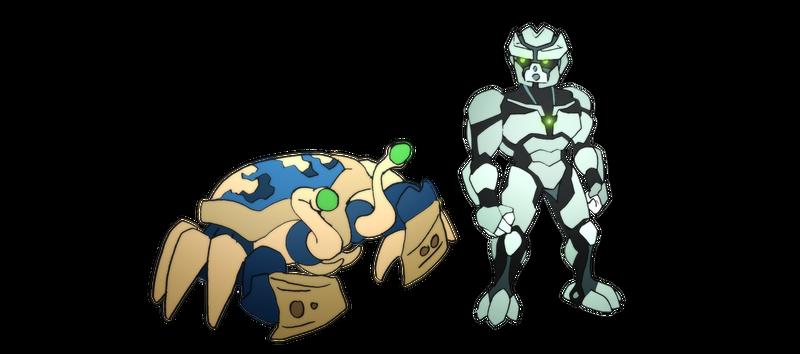 Bionicle- Nova Orbis- Sister Species