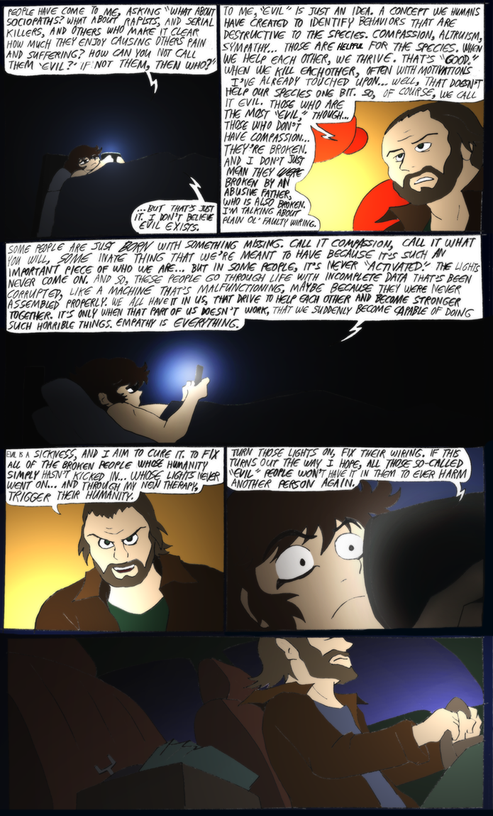 Shadow of The Devilman- 18- More Psychobabble by NickinAmerica