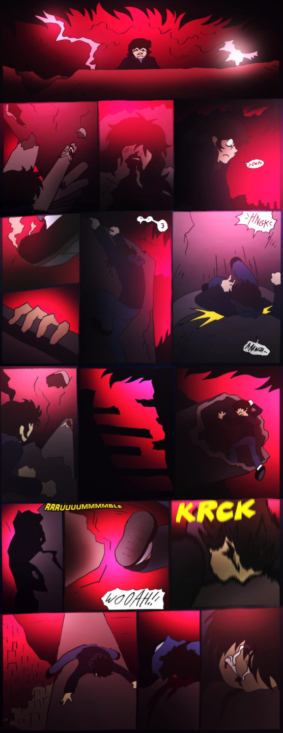 Shadow of The Devilman- 117- Ouch by NickinAmerica