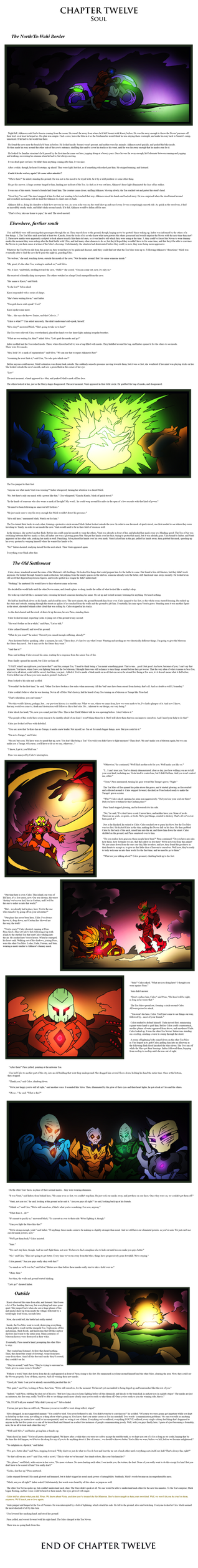 Bionicle- Nova Orbis- Return- Chapter 12