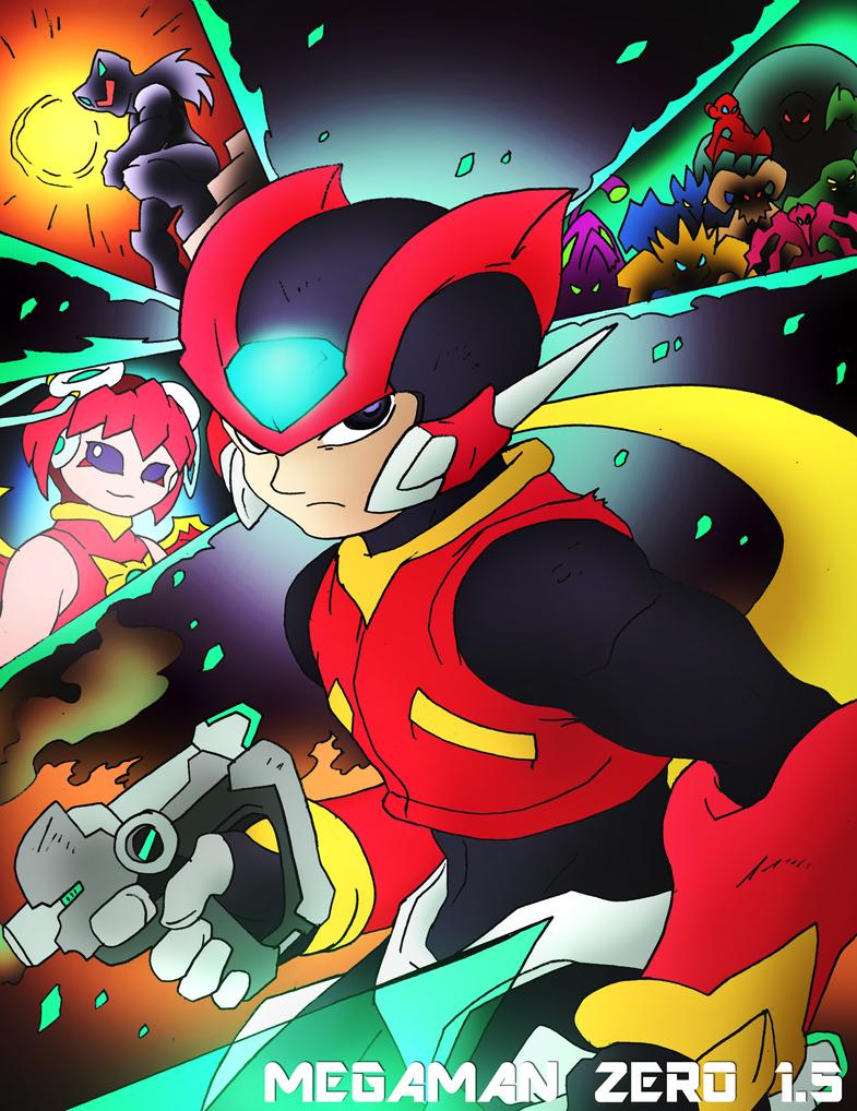Mega Man Zero 1.5 Cover by NickinAmerica