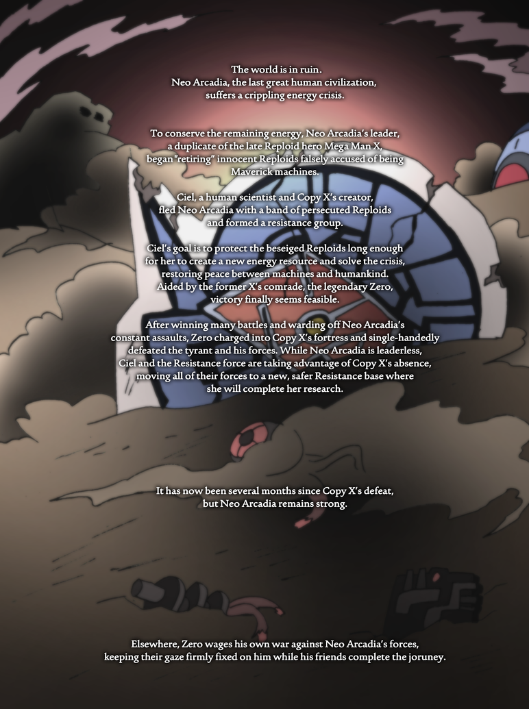 Mega Man Zero 1.5 Introduction by NickinAmerica
