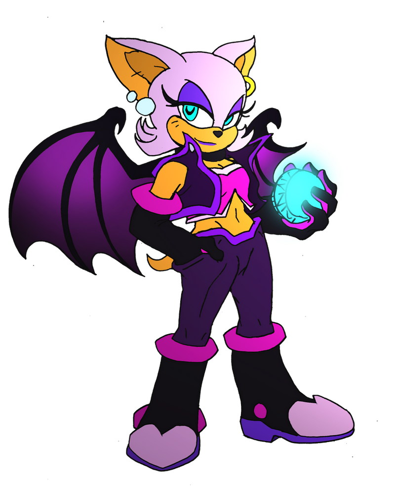 Rouge's new duds by NickinAmerica