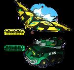 Commission for KaijuDuke- Technozords 4 and 5