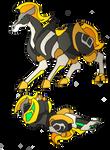 Commission- Eto Horse