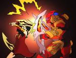 Commission- Tahu VS Cinder
