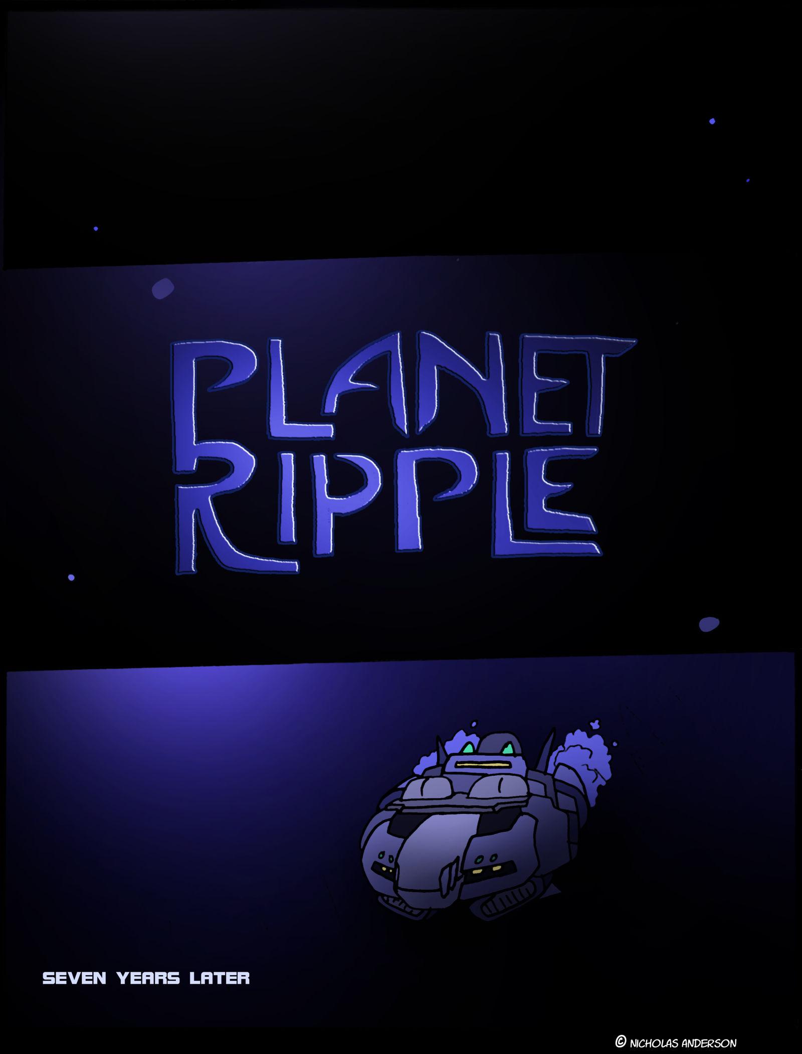 Planet Ripple-15- Title