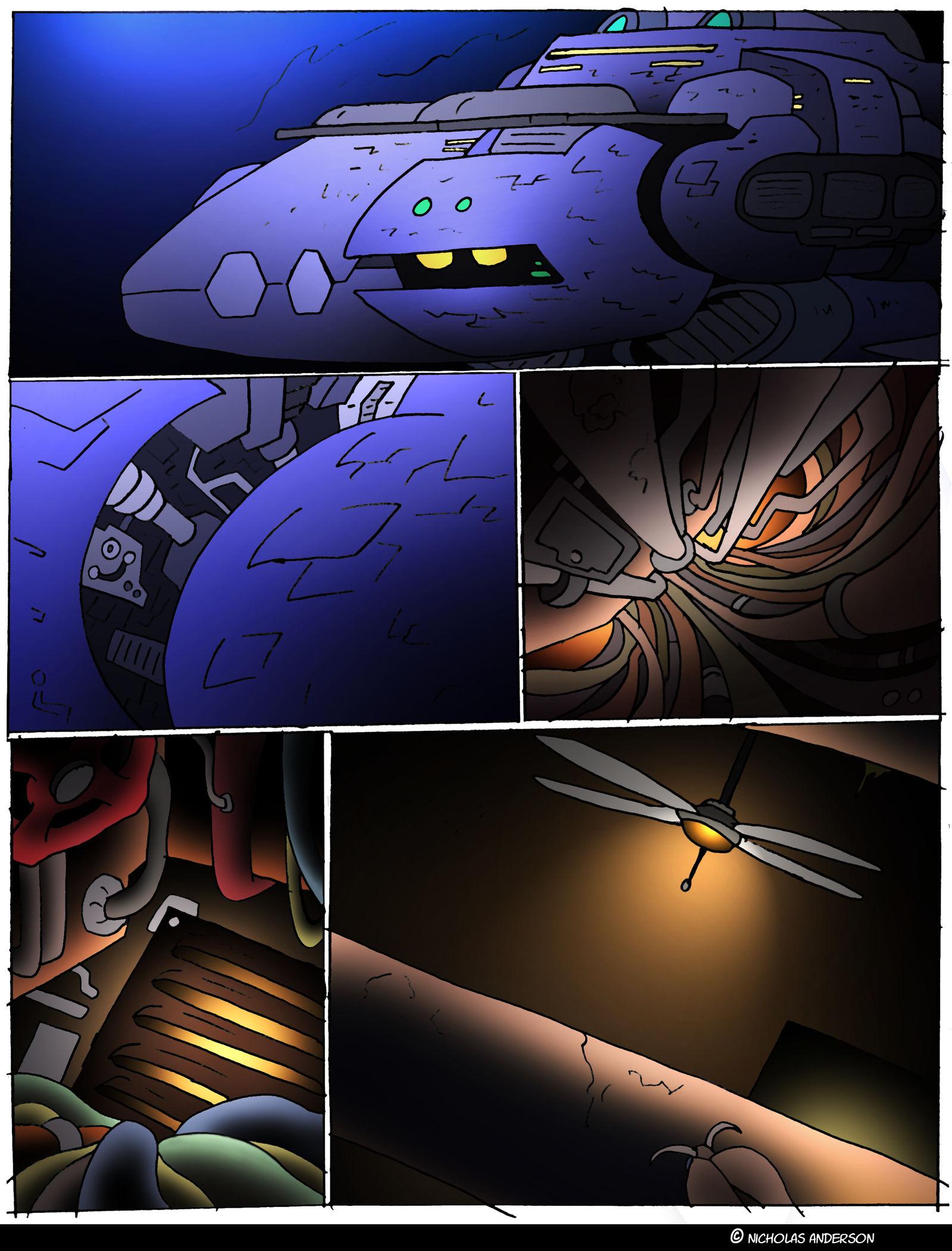 Planet Ripple- 16- Industrial innards