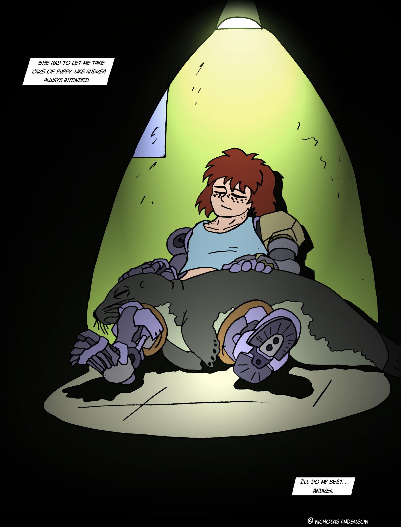 Planet Ripple- 38- Sea dog cuddles