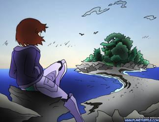 Planet Ripple- Imagining Peaks Island by NickOnPlanetRipple
