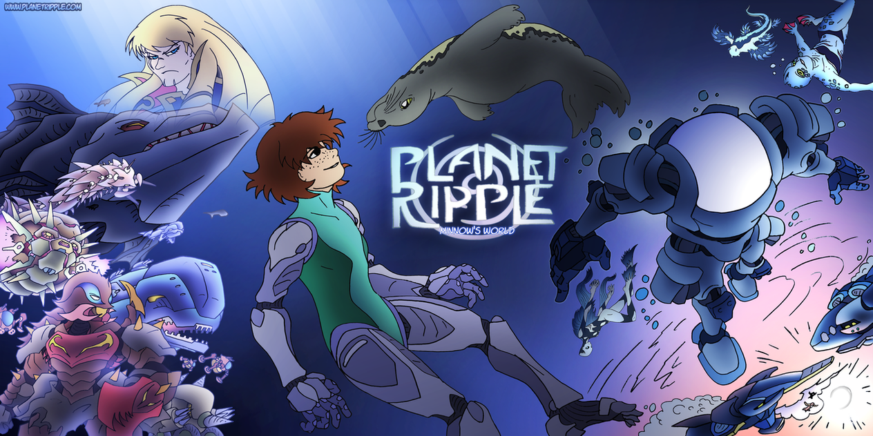 Planet Ripple banner by NickOnPlanetRipple