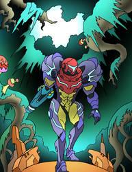 'Samus Returns' Gravity Suit by NickOnPlanetRipple