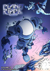 Planet Ripple Volume 3 Front Cover by NickOnPlanetRipple