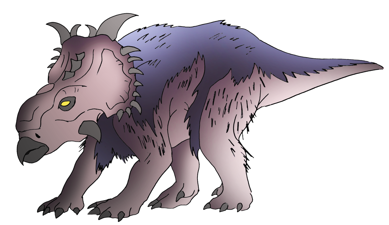 Pachyrhinosaurus by NickOnPlanetRipple