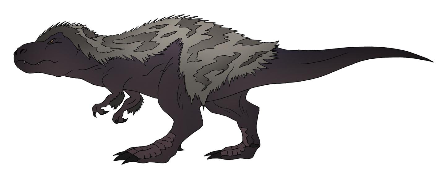 Tyrannosaurus Rex (my take) by NickOnPlanetRipple