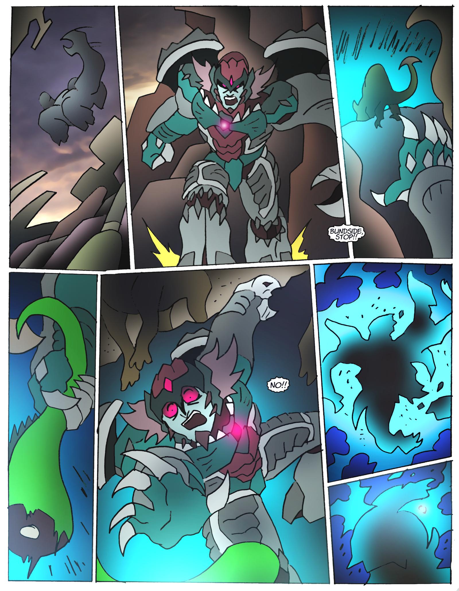 Beast Wars Future- 109- Oops by NickOnPlanetRipple