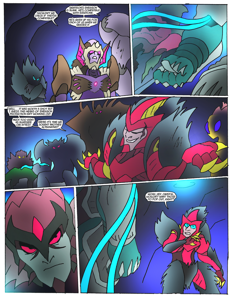 Beast Wars Future- 111- Compatibility by NickOnPlanetRipple