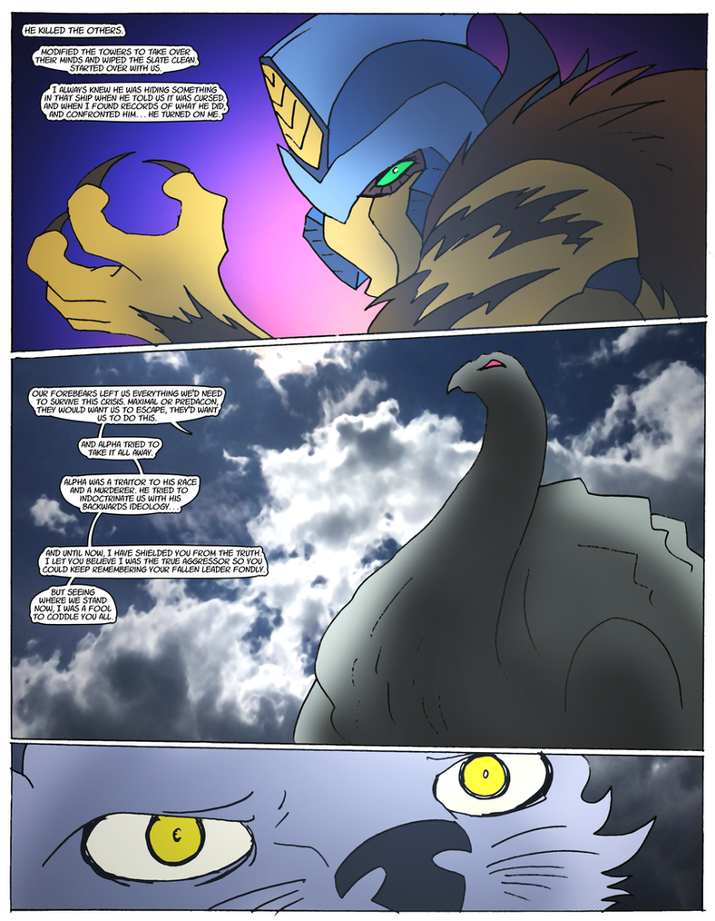 Beast Wars Future- 124- The Truth by NickOnPlanetRipple