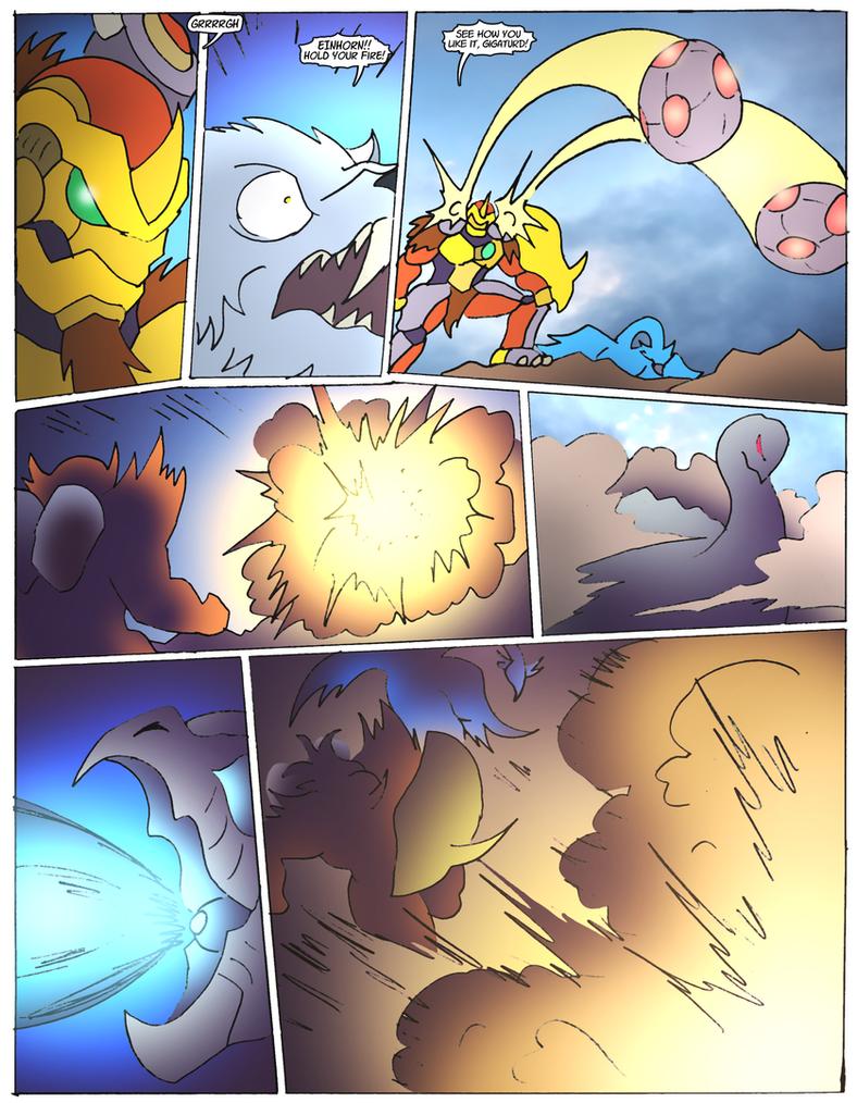 Beast Wars Future- 127- Escalation by NickOnPlanetRipple