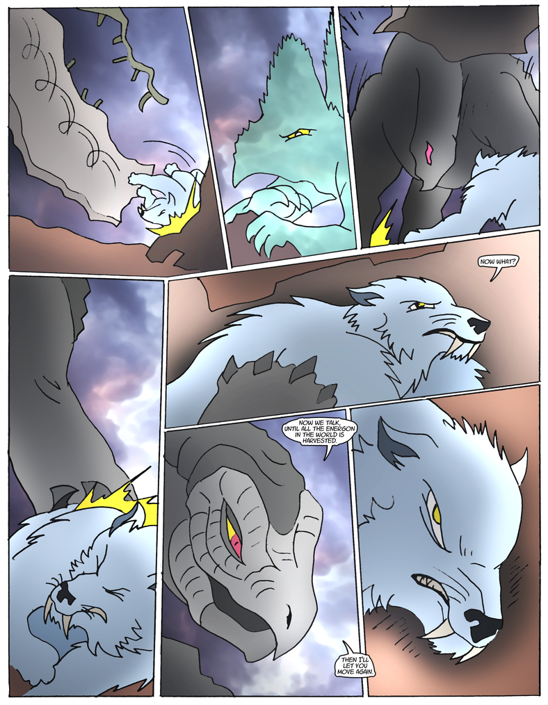 Beast Wars Future- 158- Pinned Down by NickOnPlanetRipple