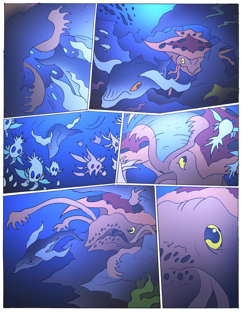 Beast Wars Future- 163- Silver Swimmers by NickOnPlanetRipple