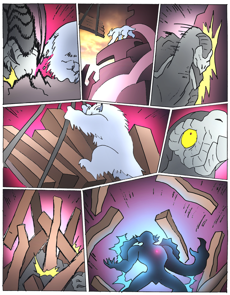 Beast Wars Future- 165- Damage by NickOnPlanetRipple