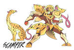 Scamper- Beast Wars Future