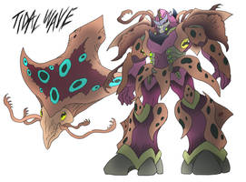 Tidal Wave- Beast Wars Future by NickOnPlanetRipple
