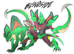 Blindside- Beast Wars Future
