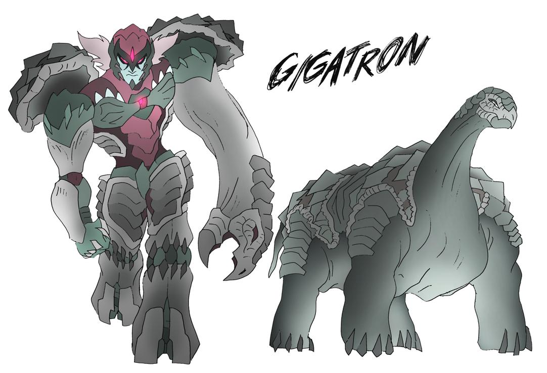 Gigatron- Beast Wars Future by NickOnPlanetRipple