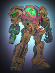 Exo-Samus by NickOnPlanetRipple