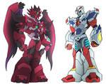 Two Transformers OCs