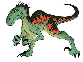 Venatoraptor by NickOnPlanetRipple
