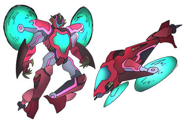 Copter Mecha by NickOnPlanetRipple
