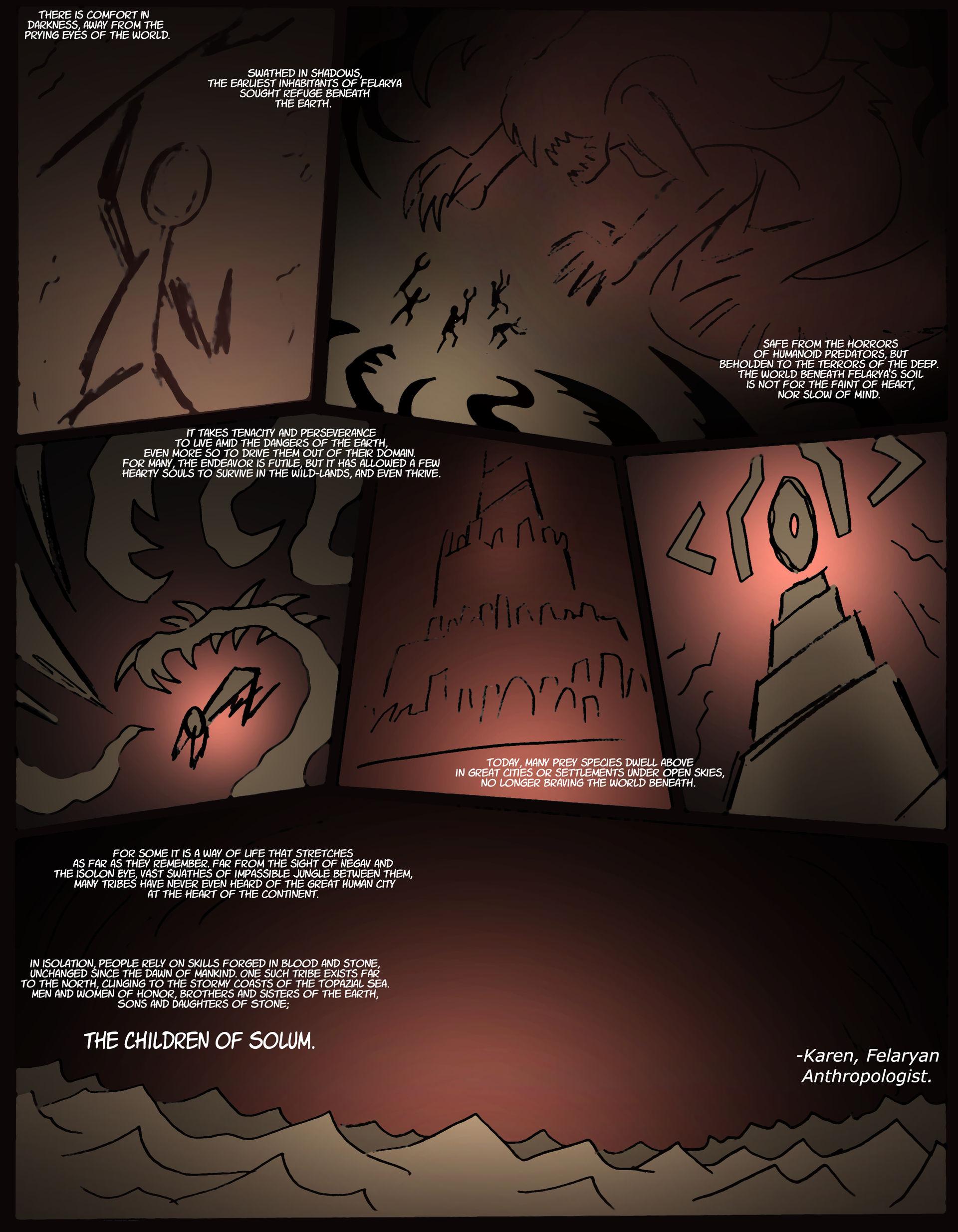 Felraya- Children of Solum Page 1