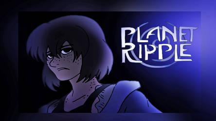 Planet Ripple Wallpaper