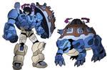 Snaptrap/Blastoise Gigantimax Fusion