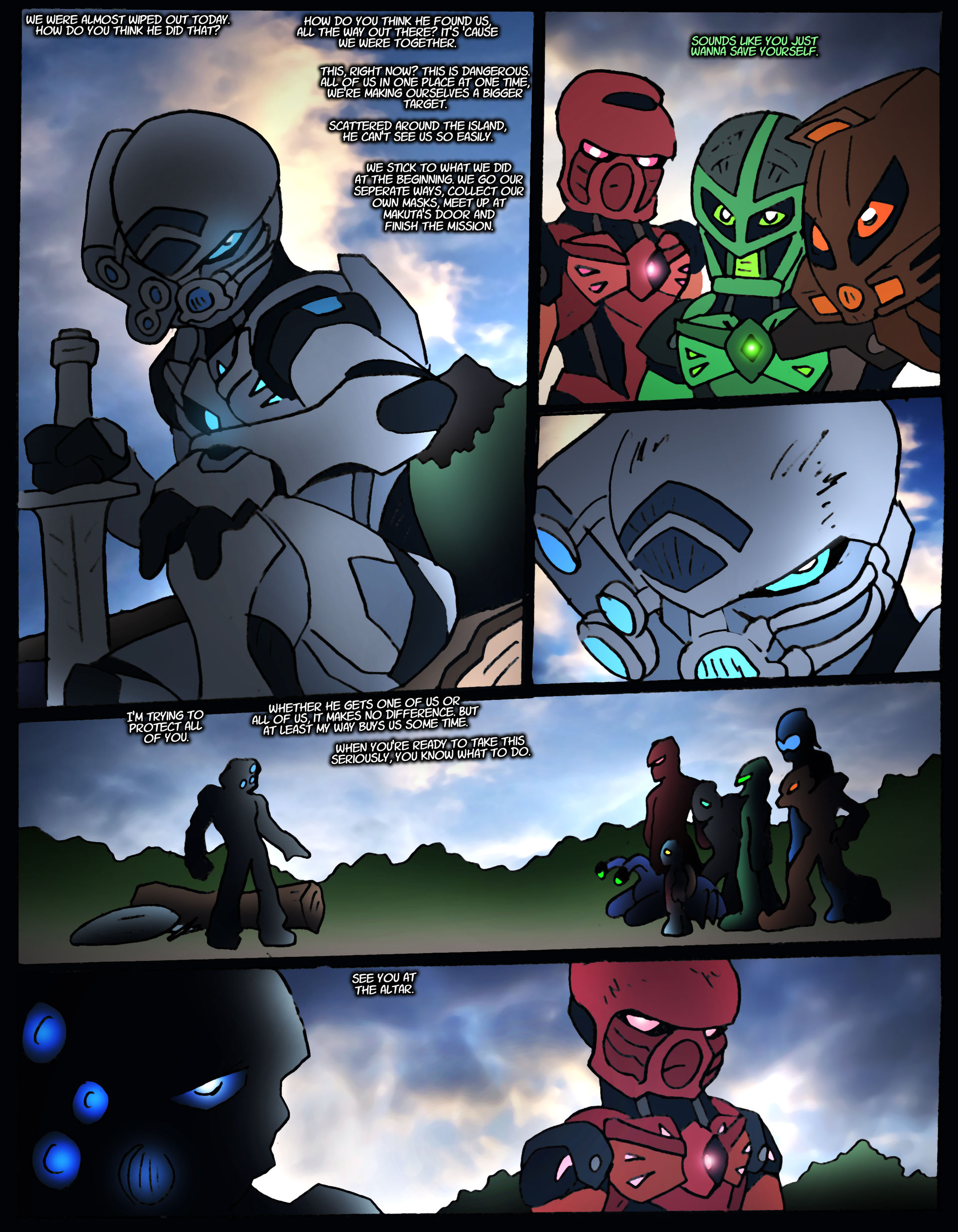 The Toa- 117- Kopaka's Retort