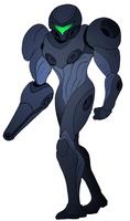 Metroid- Mythos Suit, Blank