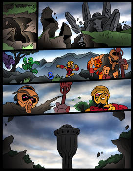 The Toa- 218- End of The World