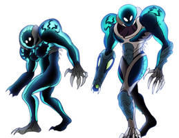 The Metroid Suit- Stages 1 and 2