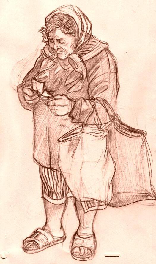 Old Lady by Balak01