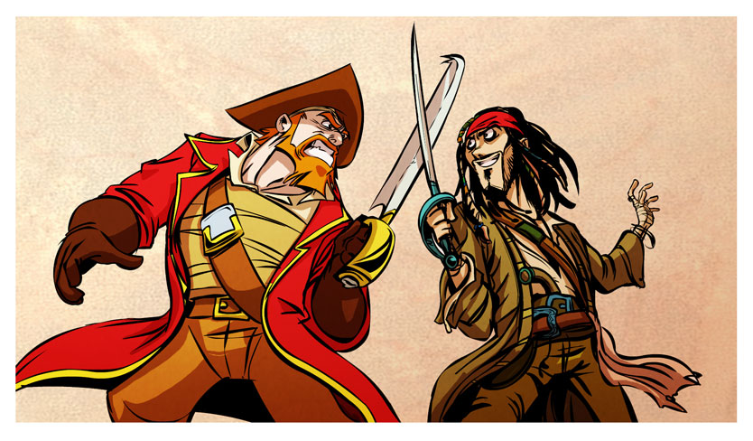 Pirate VS Pyrat by Balak01