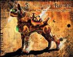 Steampunk Boxer- Color